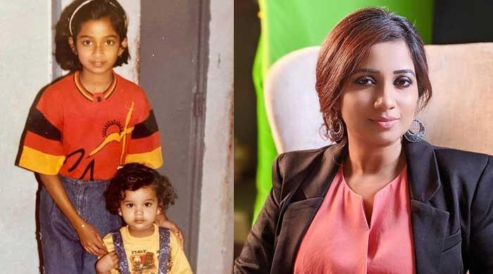 Shreya Ghoshal looks unrecognizable in her childhood photos with brother
