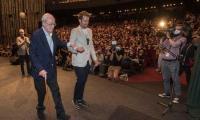Oscar winner Michael Caine honoured with Crystal Globe award at Karlovy Vary film festival