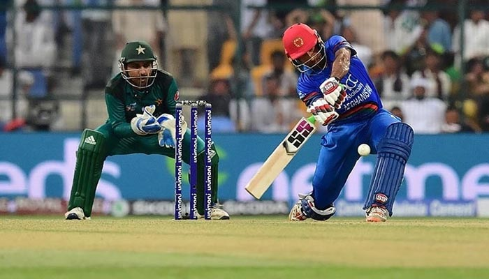 Afghanistans Mohammad Asghar plays a shot during the ODI Asia Cup cricket match between Pakistan and Afghanistan, on September 21, 2018. — AFP/File