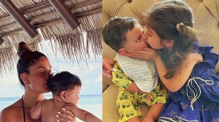 Kareena Kapoor's son Jeh celebrates first 'Rakhi': See Photo