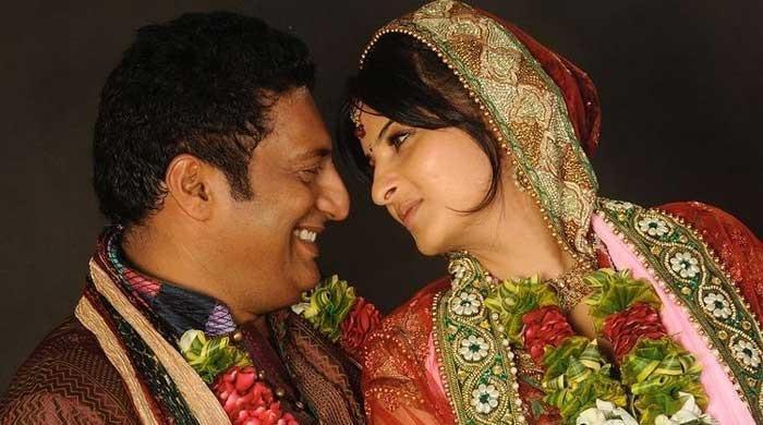 Prakash Raj marries 'again' on son's request