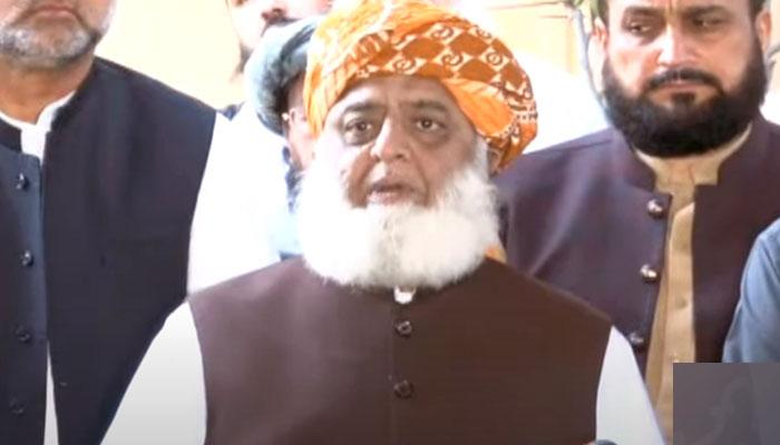 Pakistan Democratic Movement (PDM) chief Maulana Fazlur Rehman. Photo: file