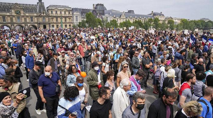 France witnesses nationwide protests against Covid health pass system