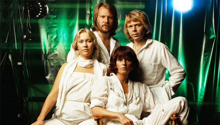 ABBA enjoyed success with a string of chart hits in 1970s and early 1980s after winning Eurovision in 1974