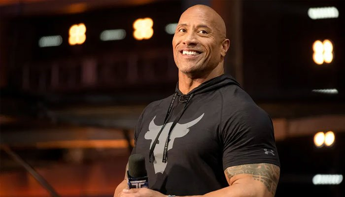 Dwayne Johnson fawns over HCA Award for 'Young Rock'