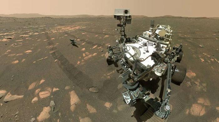 NASA says Mars rover scooped up Martian rock sample