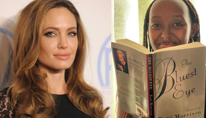 Angelina Jolie gives fans glimpse