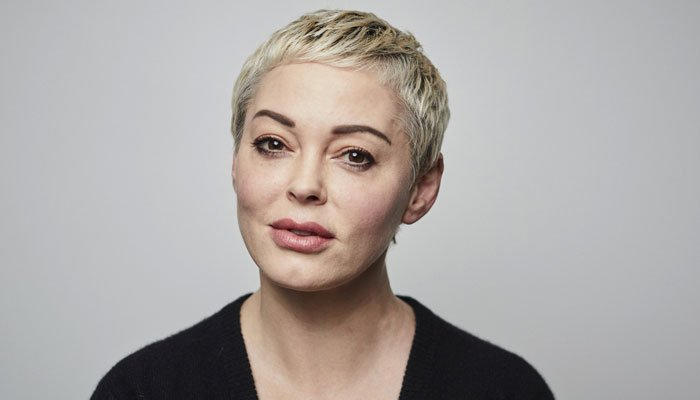 Rose McGowan a screenshot of a Deadline article about stars who have expressed their displeasure over the legislation
