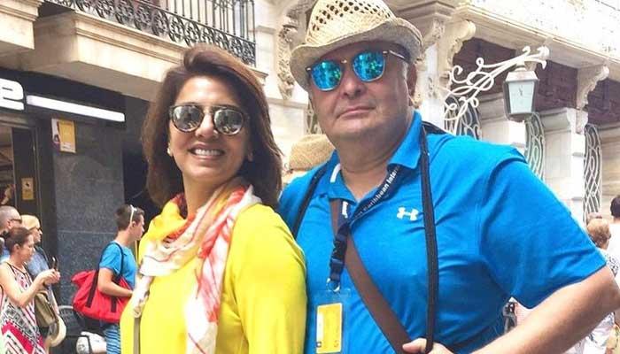 Neetu Kapoor remembers Rishi Kapoor on his 69th birth anniversary