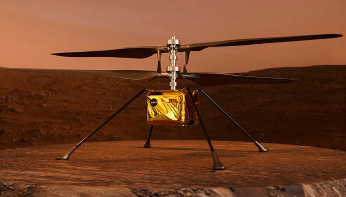 NASAs copter on Mars mission performs better than expected
