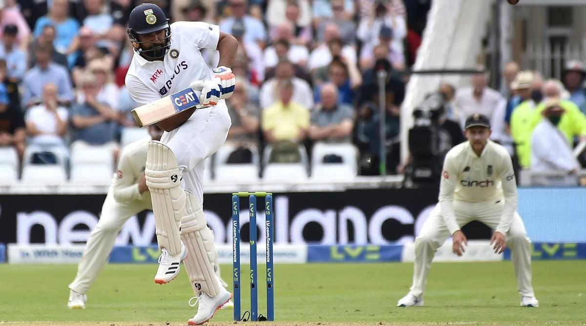 Indias Rohit Sharma in action against England — AP/Rui Vieira