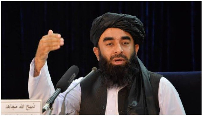 Those involved in aerial firing will be disarmed and expelled from the cities, Zabihullah Mujahid. Photo AFP