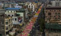 Myanmar photographer wins top photojournalism award in Paris