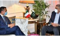 Italian Foreign Minister Luigi Di Maio calls on COAS General Qamar Javed Bajwa