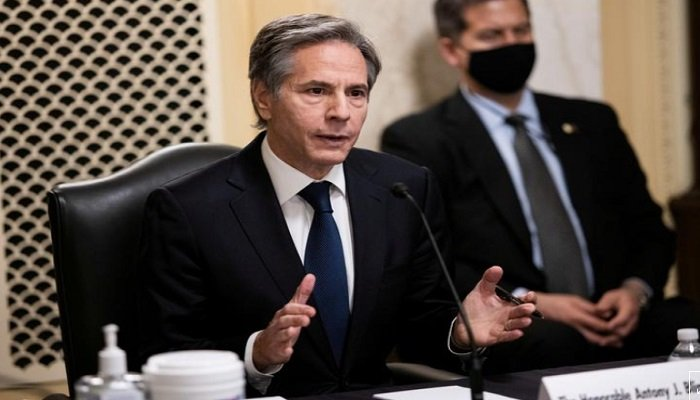 Any legitimacy — any support — will have to be earned, saysUS Secretary of State Blinken. Photo AFP