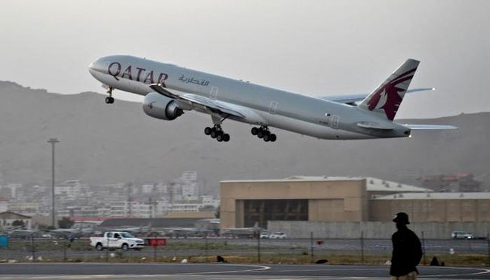 Qatar Airways flew over 100 passengers from Afghanistan to Qatar after the US pullout. AFP