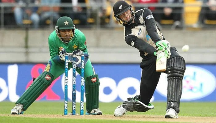 New Zealand cricketer plays a shot during a match. File photo