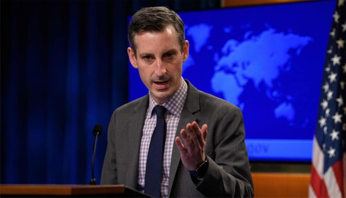 The US State Department spokesperson Ned Price. — AFP