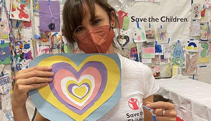 Jennifer Garner is a trustee and ambassador for the organization, Save the Children