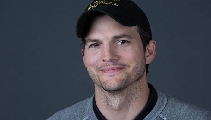 Ashton Kutcher got is leg pulled by Iowa State football fans near Jack Trice Stadium