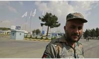 Afghan police return to Kabul airport to work alongside Taliban