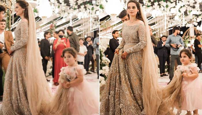 Aiman Khan's two-year-old daughter turns a bridesmaid for Minal