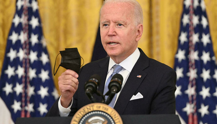 US President Biden will some vital issues with the prime ministers of Japan, India, Australia at White House. AFP