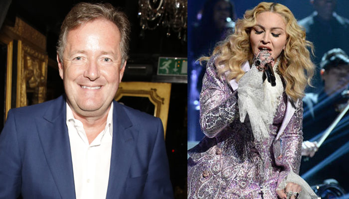 Piers Morgan blasts Madonna for her outfit at VMAs
