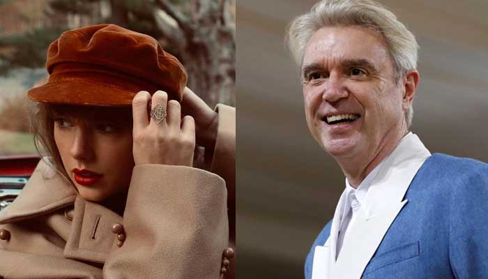 David Byrne 'jealous' of Taylor Swift for recording two albums during pandemic
