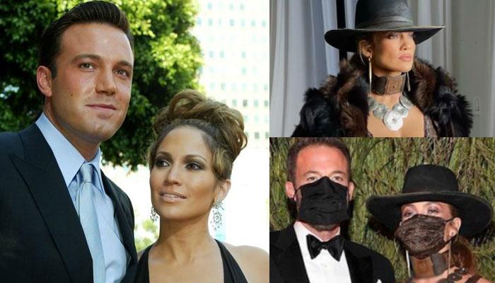 Jennifer Lopez and Ben Afflecks mask-locked love sets new trend