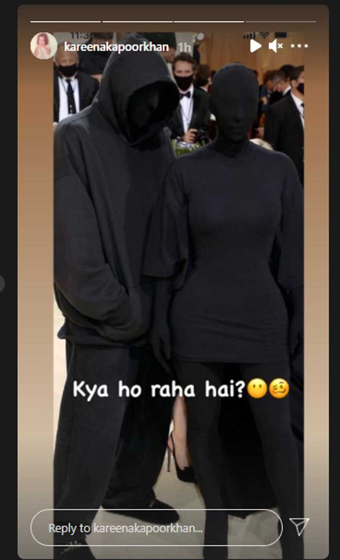 Kim Kardashian responds to Kareena Kapoor's shocking reaction on her all-black look