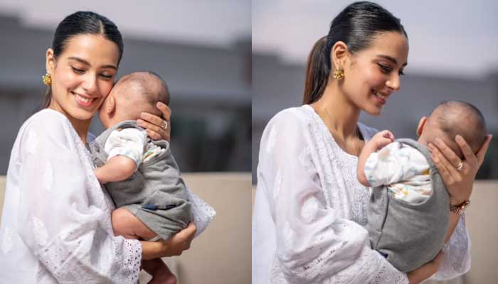 Iqra Aziz shares her feeling as mother: 'Happiness is real'