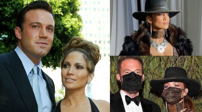 Jennifer Lopez and Ben Affleck's mask-locked love sets new trend