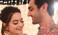 Watch Ahsan Mohsin Ikram, Minal Khan's adorable video from Dholki dance