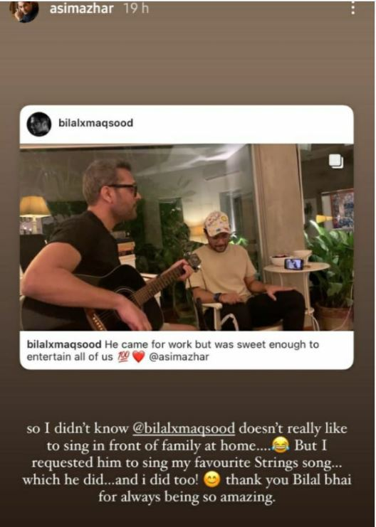 Watch: Asim Azhar, Strings alum Bilal Maqsood jam together on iconic songs
