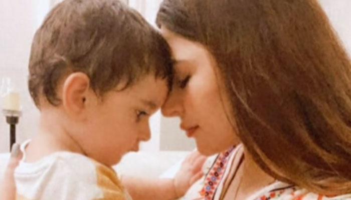 Naimal Khawar dubs son Mustafa her sukoon in love-filled snap: See Photo