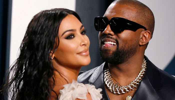 Kanye West reacts to Kim Kardashians Met Gala outfit