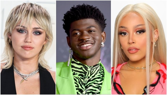 Lil Nas X says Miley Cyrus, Doja Cat inspired him in his music career