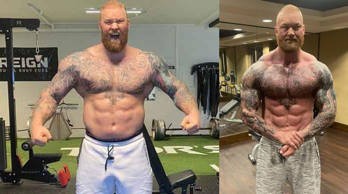 Game Of Thrones The Mountain looks unrecognizable after transformation for boxing match