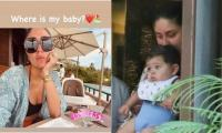 Kareena Kapoor misses her 'baby,' poses next to son Jeh's empty chair over beachside breakfast