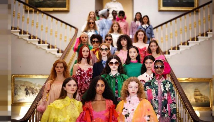 London Fashion Week live shows resume after being forced online by COVID