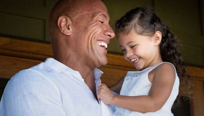 Dwayne Johnson's daughter Tia delivers a rib-tickling reaction to 'Black Adam' movie