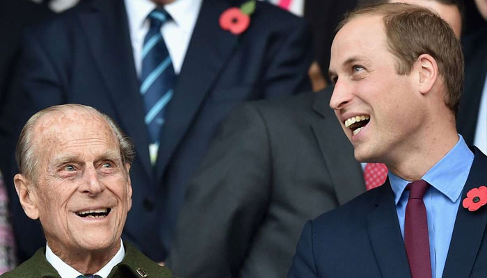 Prince William shares Prince Philip's hilarious quip over a cursing boy