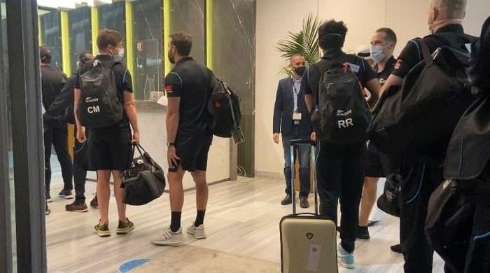 New Zealand team land in UAE after scrapping Pakistan cricket series over security threat