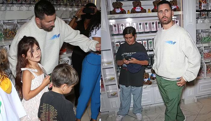 Scott Disick enjoys outing with his and Kourtney Kardashians children after Amelia Hamline split