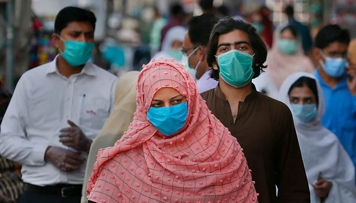 Pakistan reports 2,167 new COVID-19 cases in last 24 hours. Photo: file