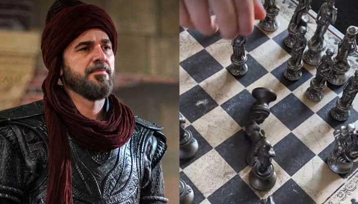 'Ertugrul' star Engin Altan Duzyatan plays chess with son Emir