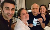 Alia Bhatt, Ranbir Kapoor Celebrate Mahesh Bhatt's 73rd Birthday