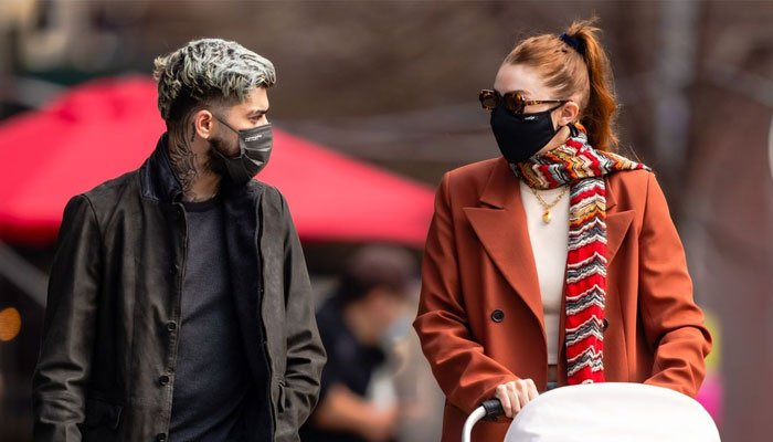 Gigi Hadid and Zayn Maliks daughter was surrounded by her family as they shower her with gifts and love