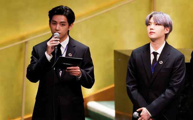 BTS members are the UN's Special Presidential Envoys for Future Generations and Culture